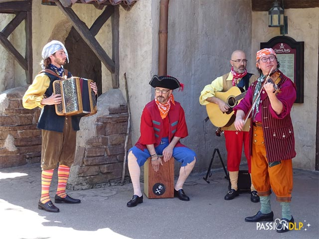 pirates musiciens