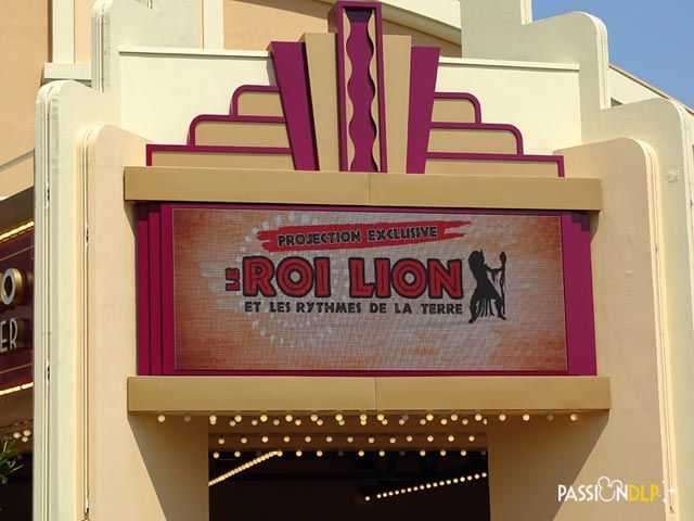 projection le roi lion